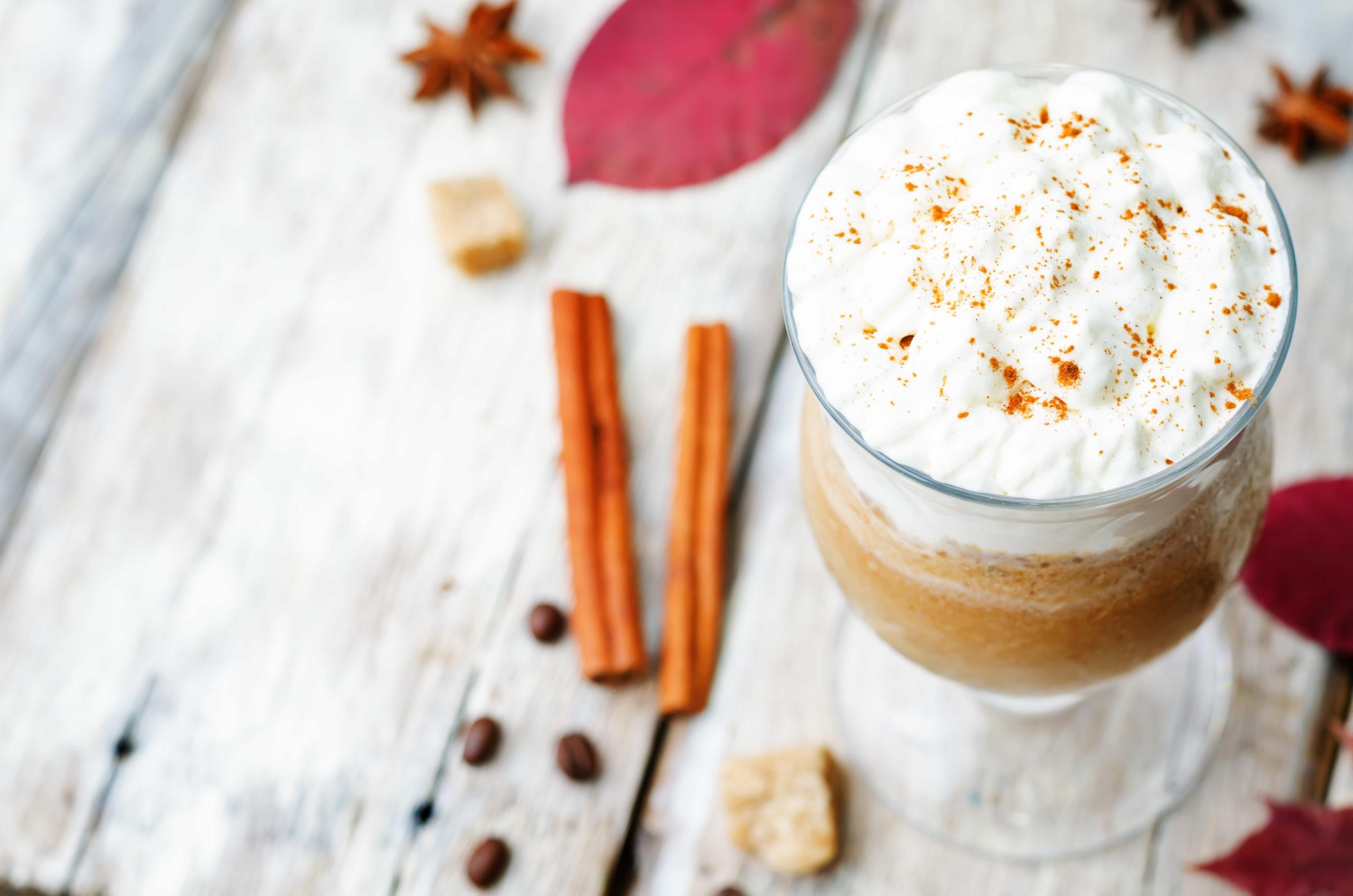 Imagen de frapuccino sin lactosa
