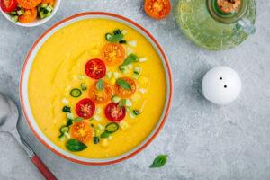 Imagen de gazpacho de tomate
