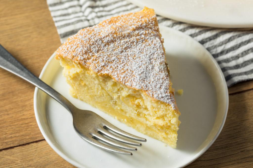 Cheesecake japonés sin lactosa