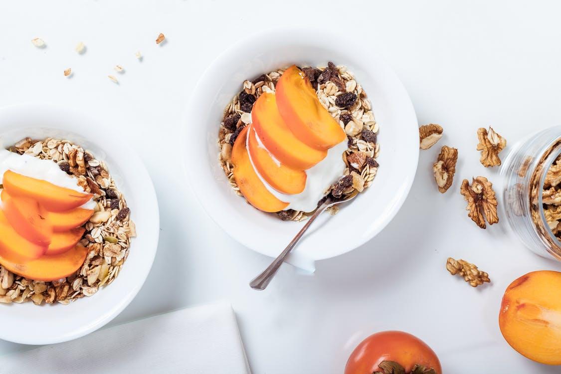 Desayuno sin lactosa